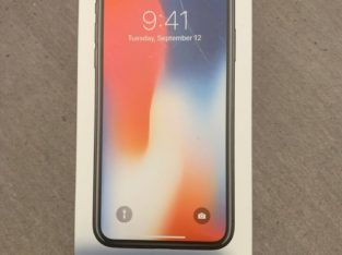 Apple Iphone X- 64gb grey