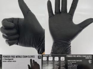 Examgards Powder Free Nitrile Exam Gloves Box of 100