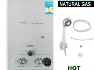 18L Natural Gas Hot Water Heater On Demand Instant Boiler Tankless Water Heater – FREE SHIPPING