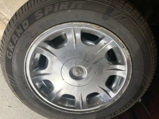 17 Inch Chrysler Rims & Tires