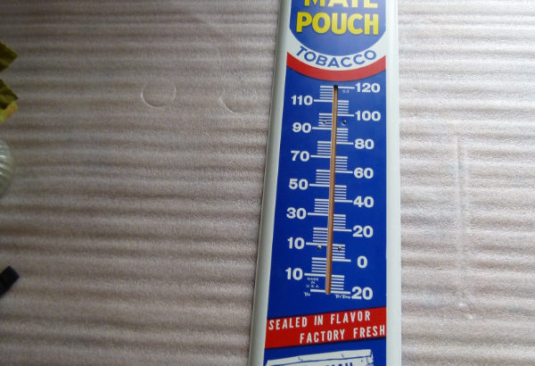 Mail Pouch Thermometer Tobacco Sign