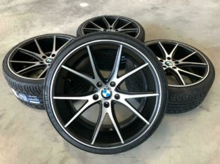 20 Azad wheels & tire package (STAGGERED) 5-SERIES BMW Cars