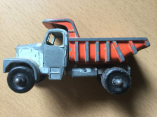 Vintage Diecast Snow Plow Truck