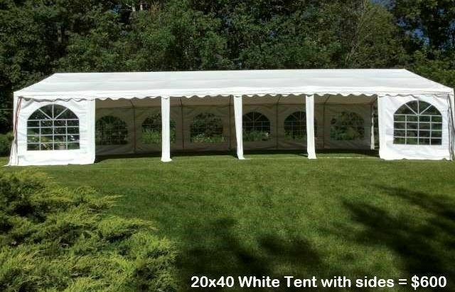 Wedding Tent Rentals, Tables, Chairs, Dance Floor, Lighting