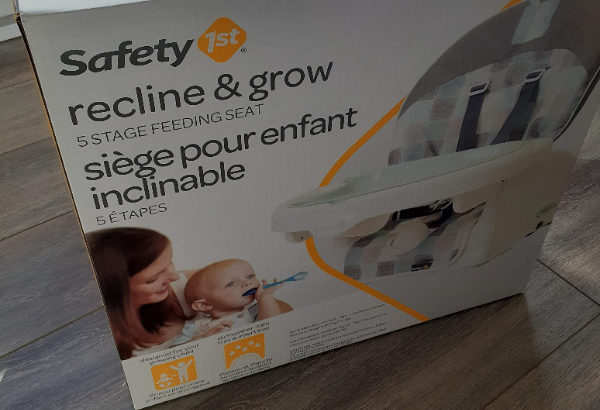 Unopened Safety 1st Recline & grow @ $50