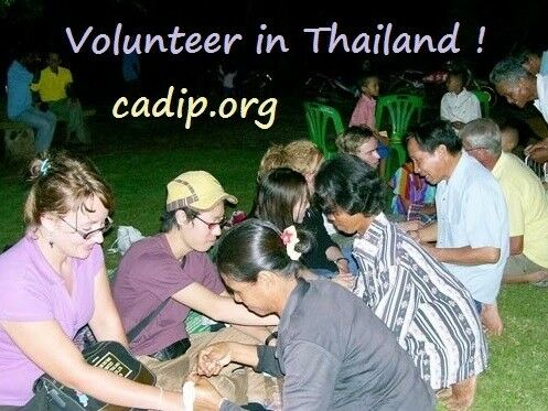Celebrating Thai New Year and volunteering in Thailand