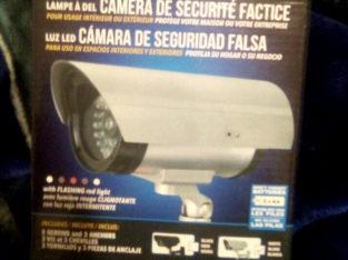 Fake security camera's $20.00