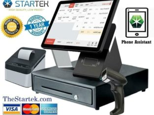 WOW ! POS Touch Electronic Cashier System -NEW- Point Of Sale Fully Equiped – Free Software- 1 Y GUARANTEE