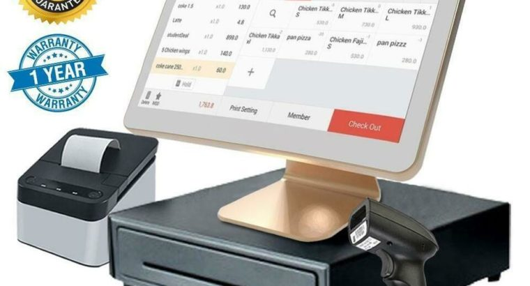 WOW 40% OFF ! POS TOUCH ELECTRONIC CASHIER SYSTEM -NEW- POINT OF SALE FULLY EQUIPED – FREE SHIPPING- 1 Y GUARANTEE