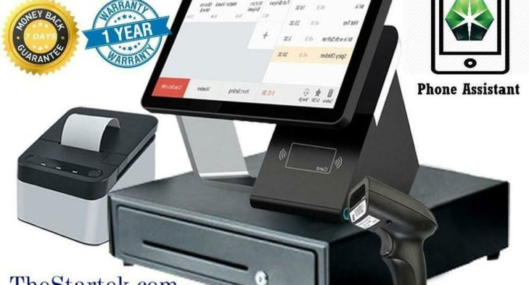 WOW ! POS TOUCH ELECTRONIC CASHIER SYSTEM -NEW- POINT OF SALE Restaurant / store – FREE SHIPPING- 1 Y GUARANTEE