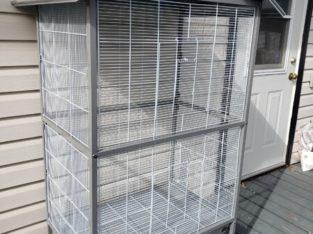 Large flight cage