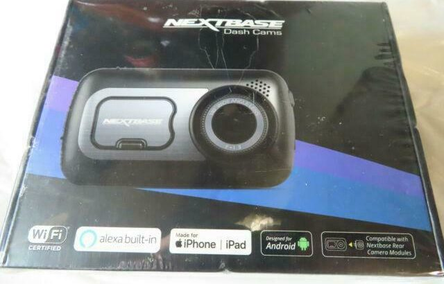 Nextbase 522GW 1440p Dash Cam with 3 LED HD IPS Touch Screen Amazon Alexa Built In @MAAS_COMPUTERS