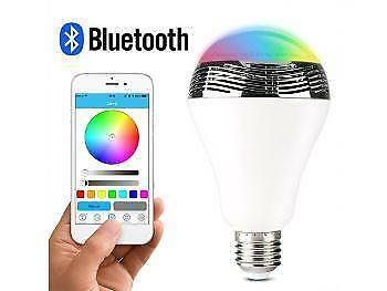 Weekly Promotion ! 2 in 1 Wireless Bluetooth Speaker Smart LED Light Bulb with APP Controlled