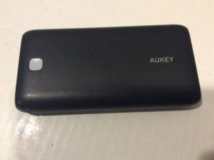 20,000mAh Aukey Power Bank | Phone Charger | 5V@2.1Amps