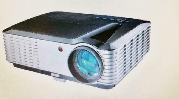 Christmas Sale! Home Theater LED Projector Full HD 1920X1080,5.8 inch LCD TFT display, 3800 Lumens, REGAL 819