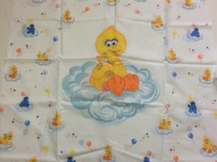 5 Sesame Street Panels & Fabrics