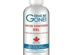 Germs Be Gone – Made in Canada 59ML / 2OZ Hand Sanitizer – Wholesale Available As Well