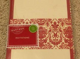 BN Invitation set (12pg)