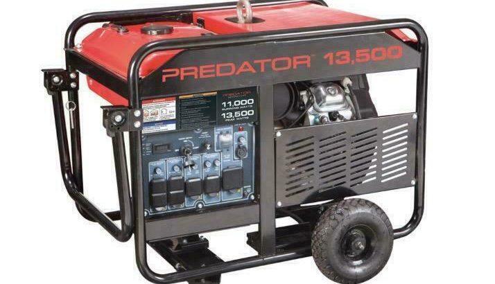 HOC G13 – 13500 PEAK/11000 RUNNING WATTS 22 HP GENERATOR + FREE SHIPPING + 90 DAY WARRANTY