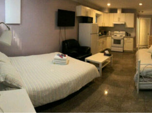Basement suite is available for 3 months