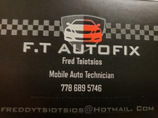Mobile Auto Mechanic 7 days $60h