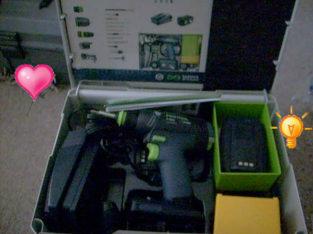 Hot Buy: Festool cordess drill set- $600 (Vancouver, BC)