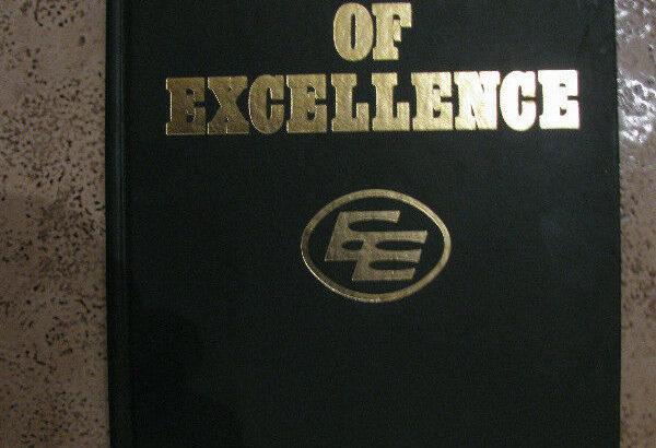 Decade of Excellence E E Edmonton Eskimos 1980 Rare Book..