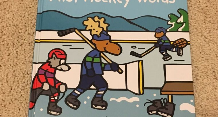 BN First hockey words hardcover book
