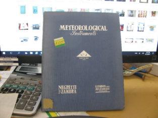Meteorological Instruments.Negretti & Zambra Catalog Book
