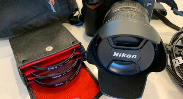 Nikon D90 + Nikkor 18-200mm lens + Zeikos filters + LowePro case