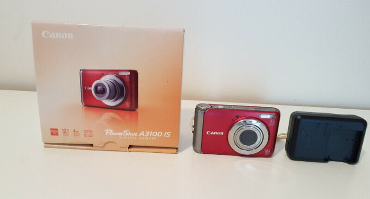 Canon Power Shot A3100IS Digital Camera