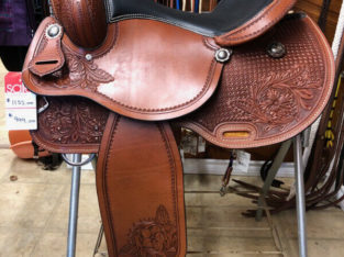 New 16″ Country Legend Combo Flower Trail Saddle