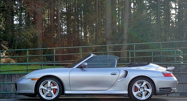 2004 Porsche 911 2dr Cabriolet Turbo Tiptronic
