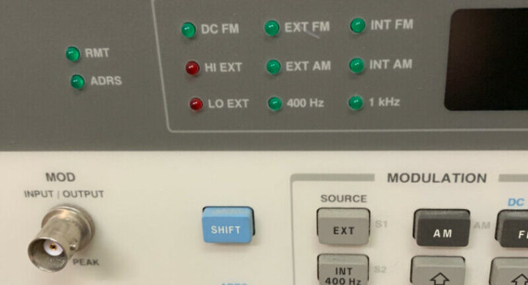 HP SIGNAL GENERATOR model 8757A