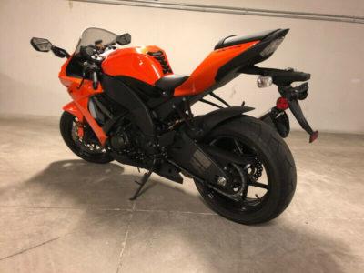 Mint Stock ZX10R Orange & Black Motorcycle