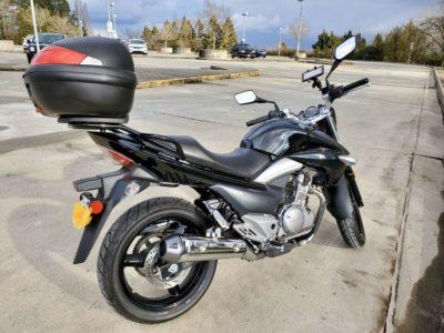 2017 Suzuki GW250 motorcycle