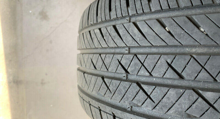 All Season tires on rims 235/45/17