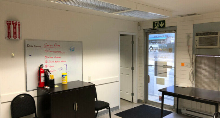Commercial and Retail Office Space
