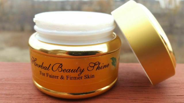 Herbal Beauty shine herbal cream for & firmer skin