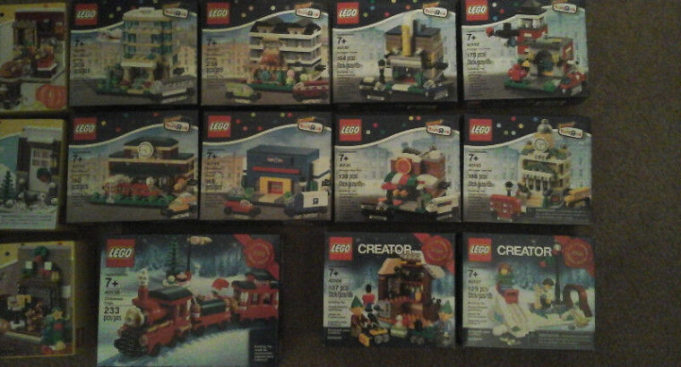 Lego City and Creator (new sealed) Bricktober items