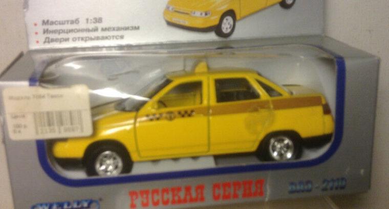 Old Soviet Russian POLICE Patrol LADA car model 1:43