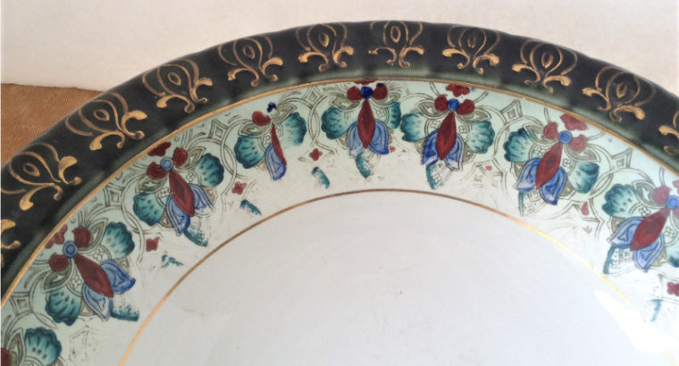 Antique Victorian Large Washbowl Circa 1880s