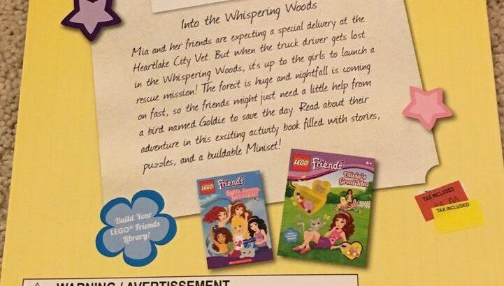 BN LEGO Friends Lego & book