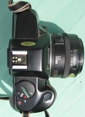 35mm SLR Canon Camera