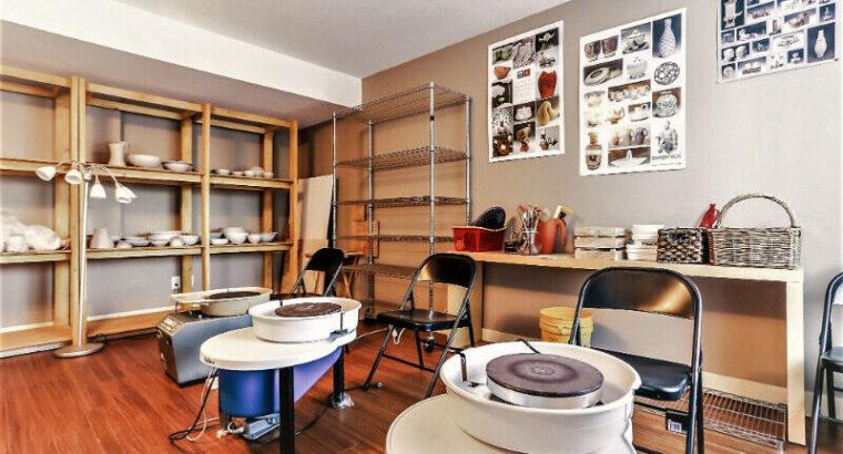 Ceramic Classes: Pottery Wheel