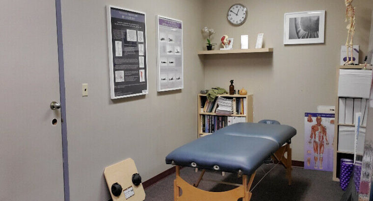 RMT, Physio, Osteopaths, Chiropractors. Room to rent!