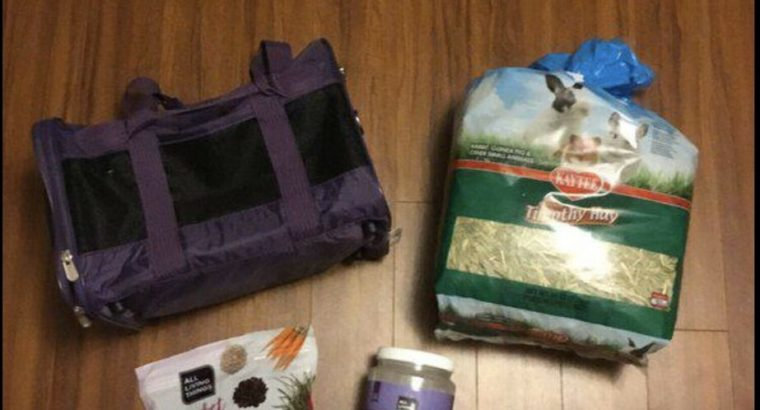 Small Pet Supplies (carrier not included)