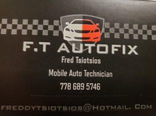 Mobile Auto Mechanic 7 Days $60 h