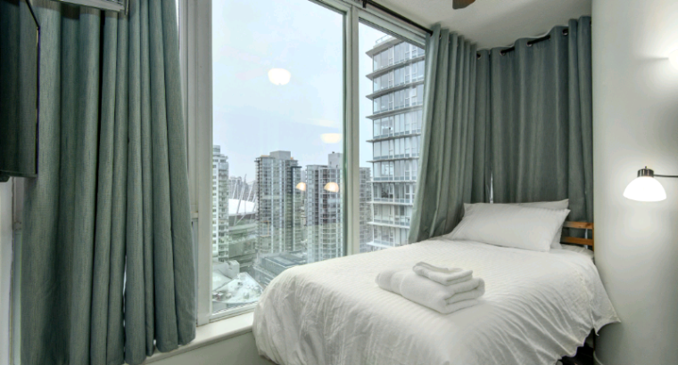 Beautiful clean fully furnished bedroom for rent downtown