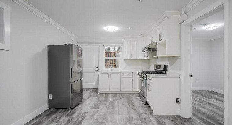 Brand-new 2 Bedroom Basement Suite